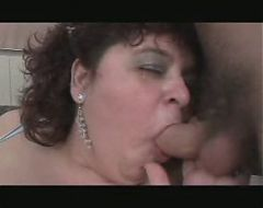 Mature fat slut fucked