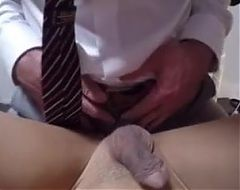 Cute asian boy fucked by older man