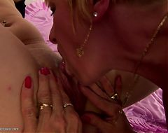 Two grannies One girl crazy lesbian porn
